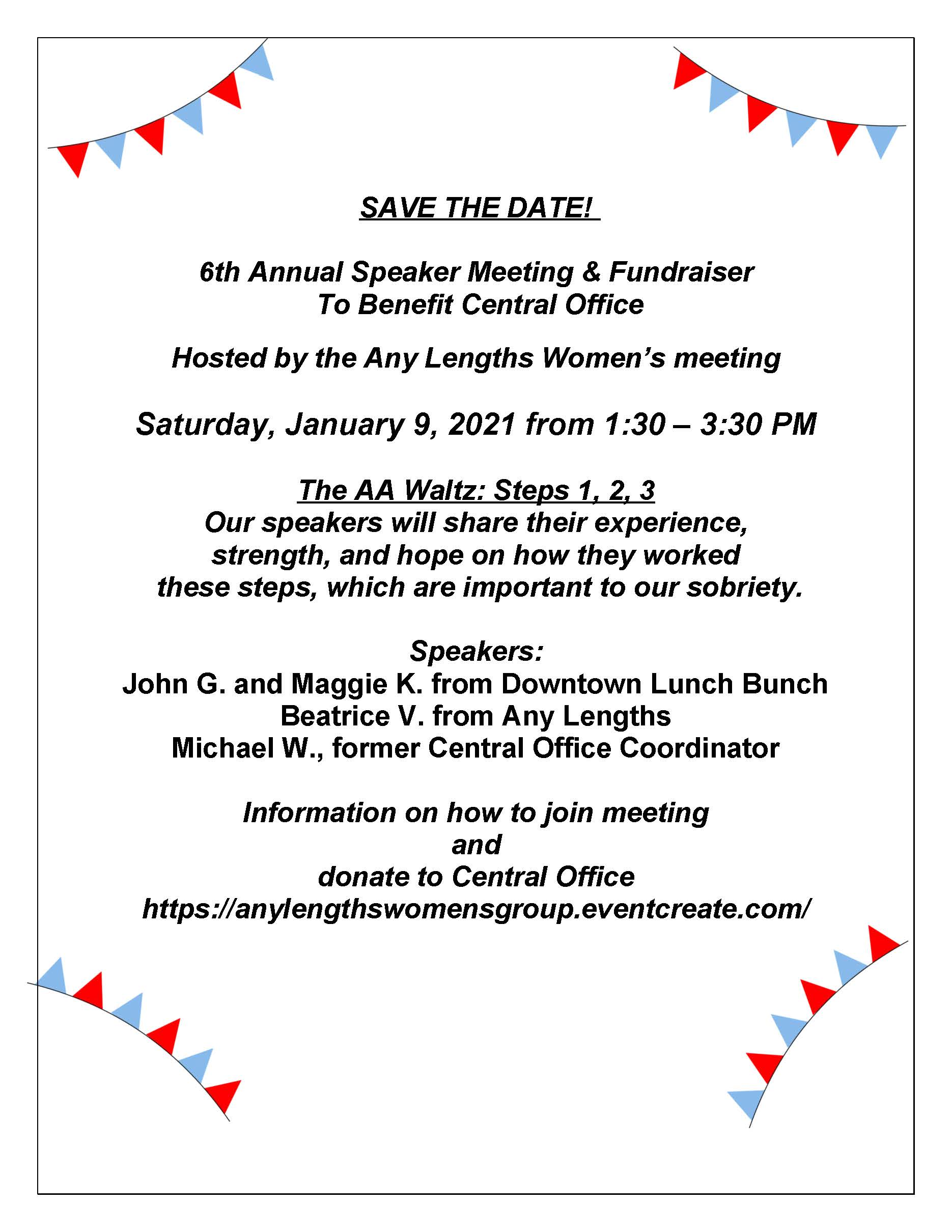 AA fundraiser flyer 2021_save the date