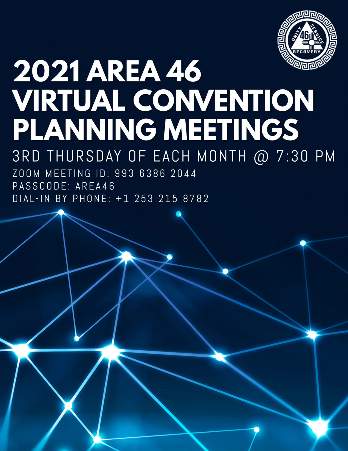Planning Meetings for the 2021 Area 46 Convention