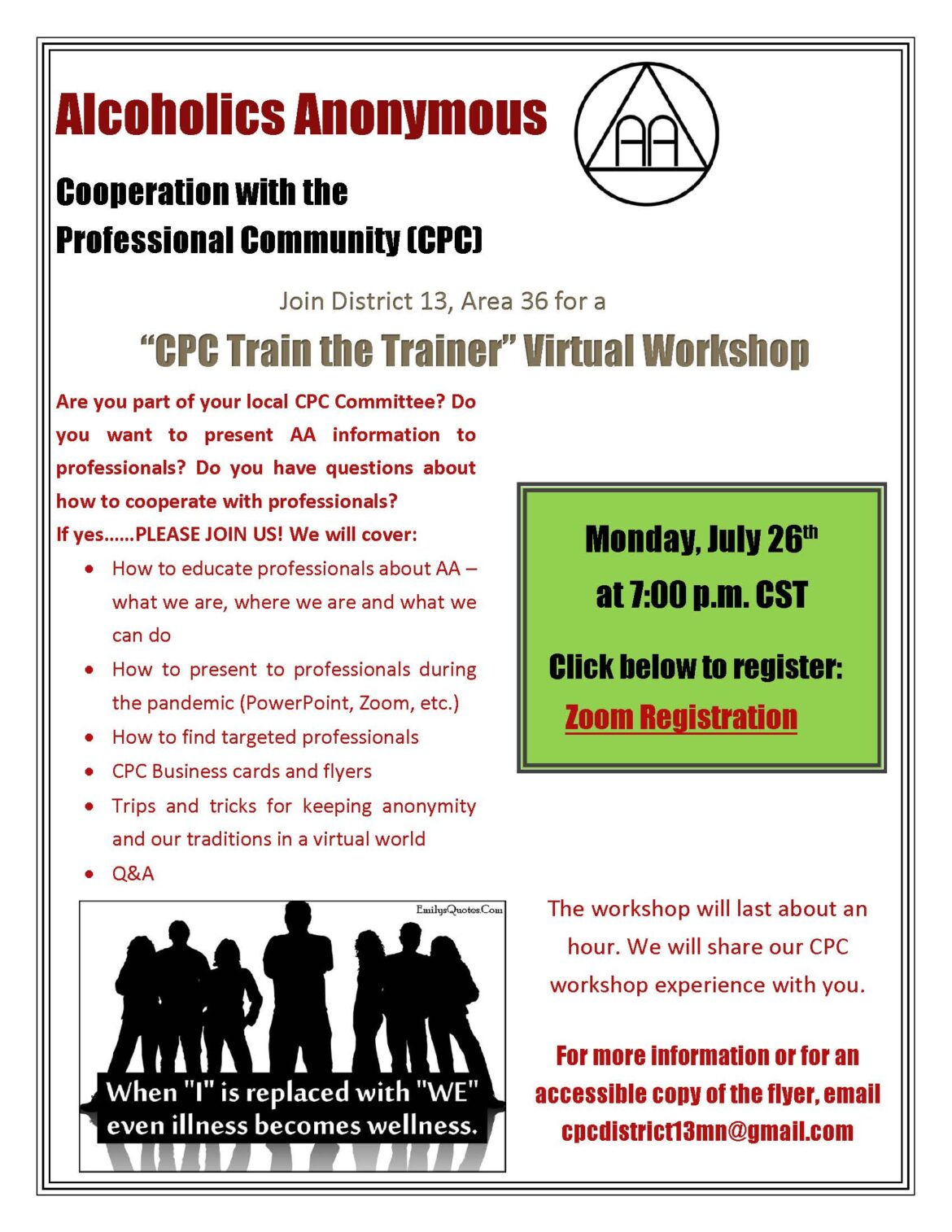 """Cooperation with the Professional Community: """"Train the Trainer"""" Workshop"""