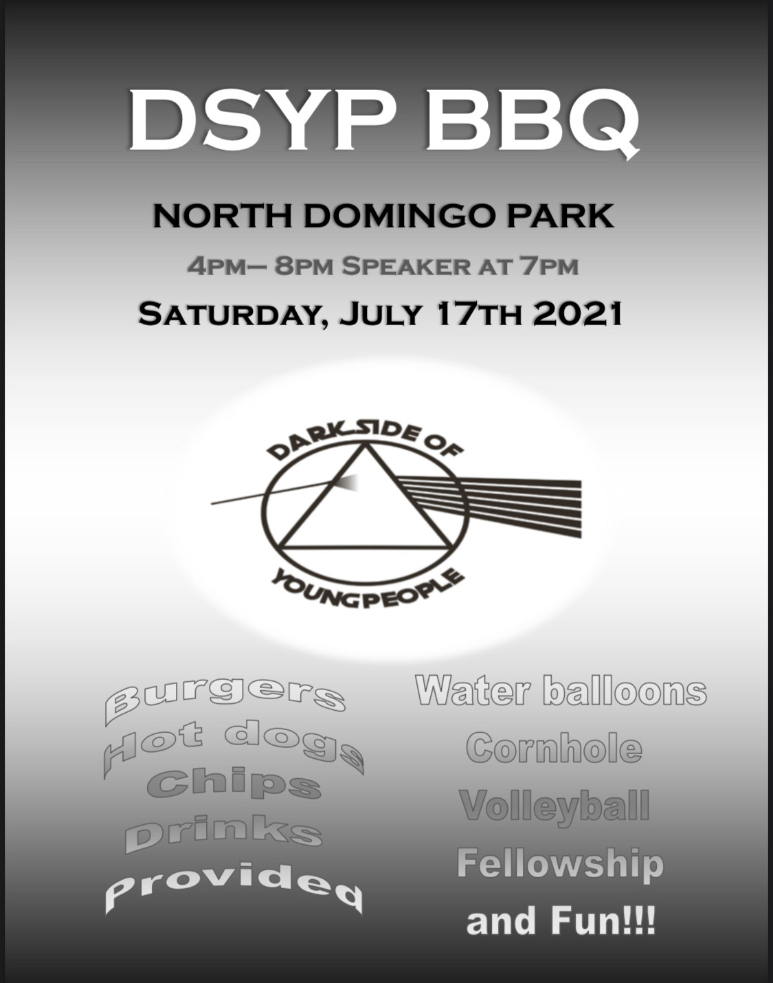 Dark Side of Young People BBQ